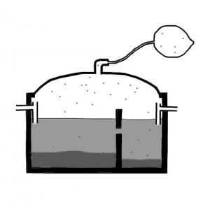 Biogas Settler | SSWM - Find tools for sustainable sanitation and