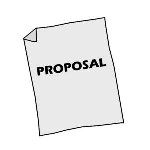 Writing of proposal