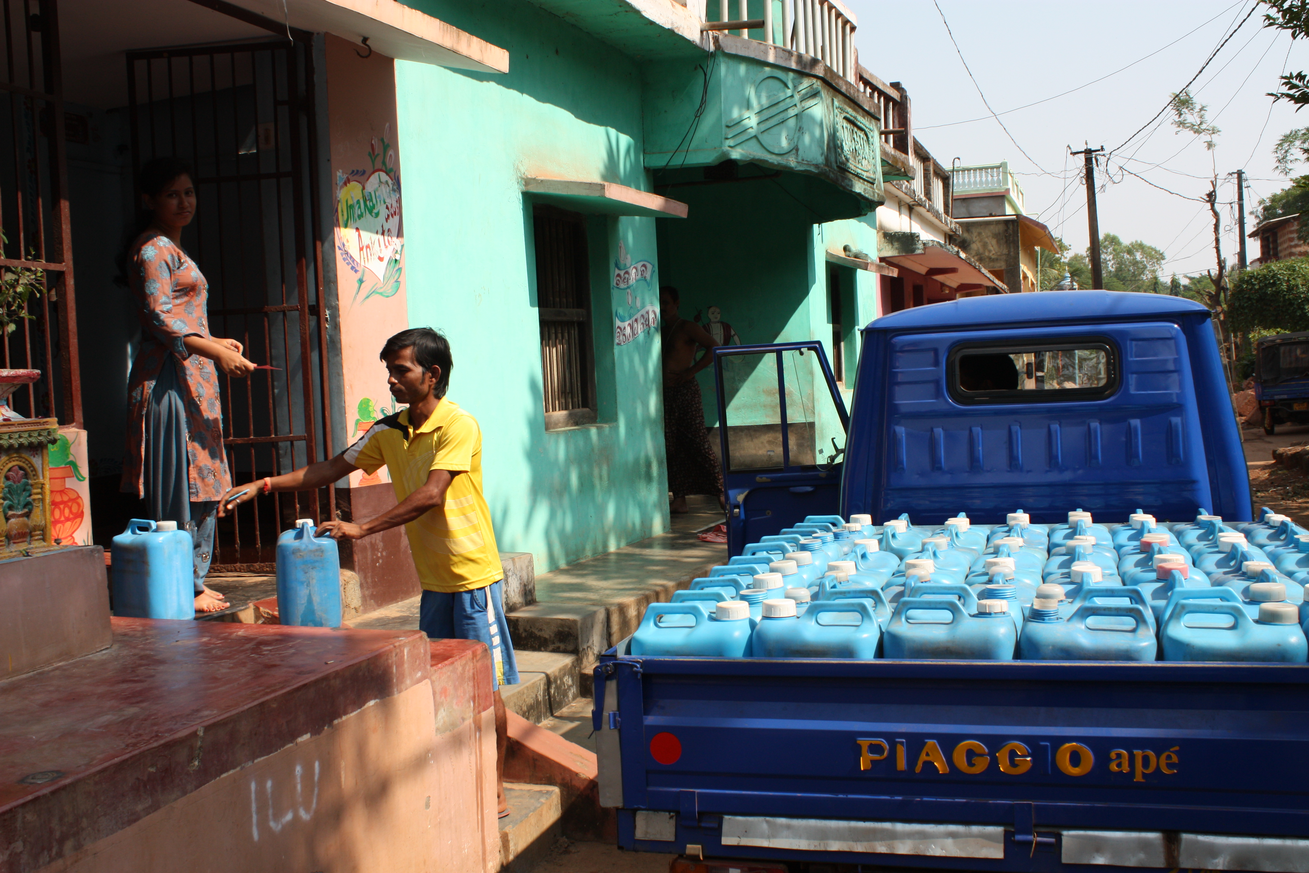 safe water delivery