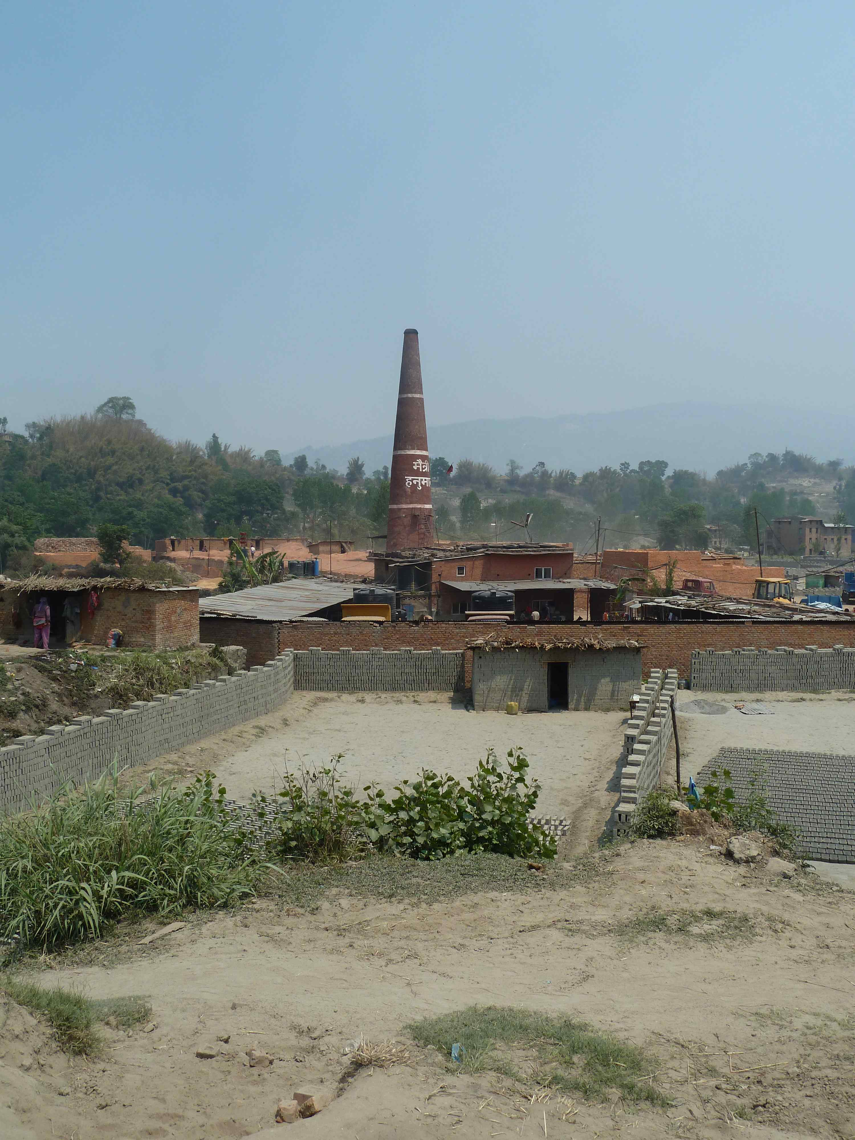 Brick kiln in the Kathmandu Valley. Source: Antenna (2017)