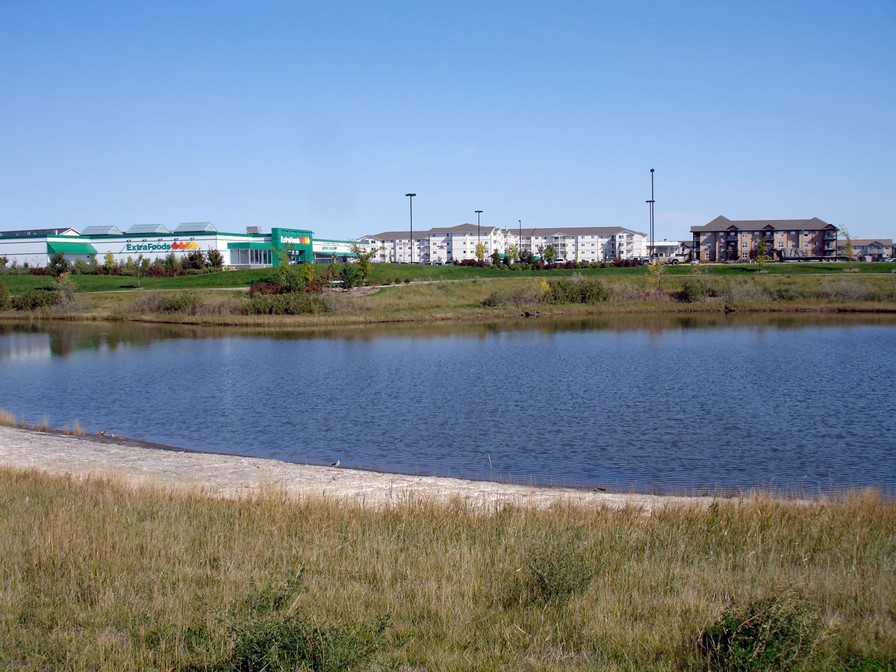 DRM310 2007. Retention basin in Saskatoon, Canada