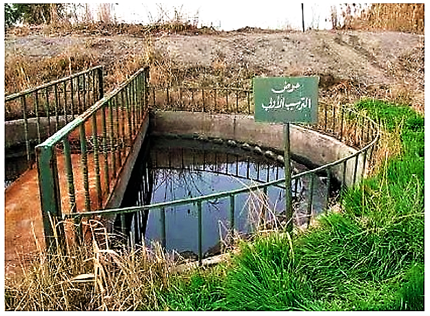 Circular primary settling tank at Haran Al-Awamied treatment plant. Source: MOHAMMED et al. (2009)