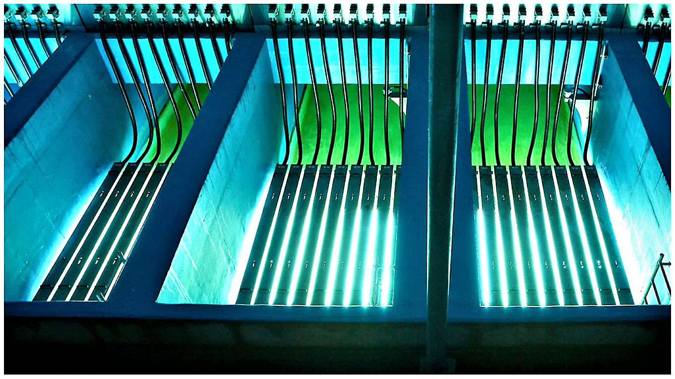 UV disinfection tank. Source: NEOTEC UV INC. (2012)