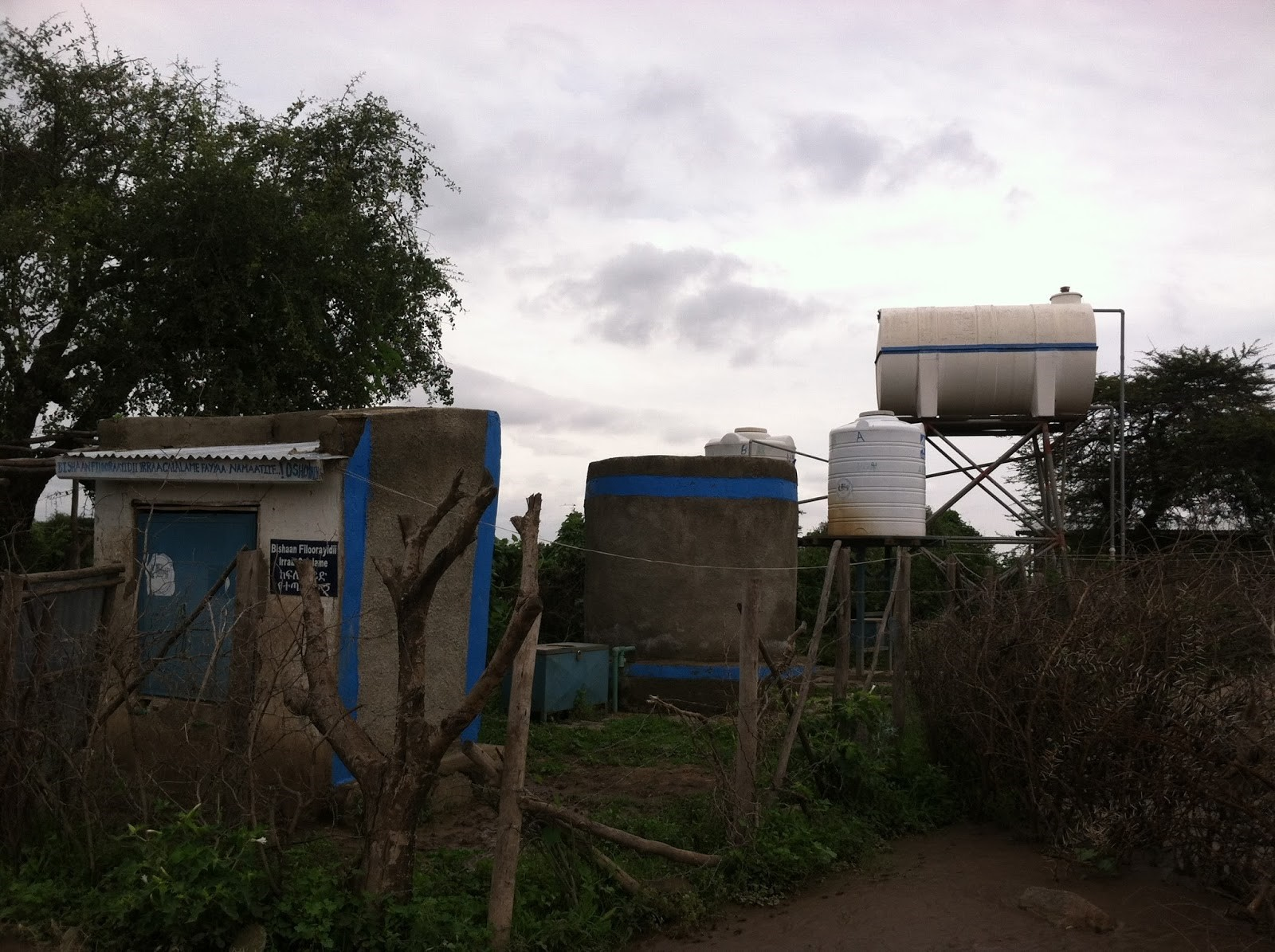 Fluoride filter system in Ethiopia. Source: OSHO (2014)
