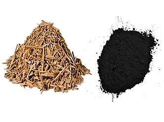 Wood based powder activated carbon for drinking water treatment. Source: PURAIR (n.y.)