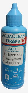Aspirational packaging of AquaCleanDrops