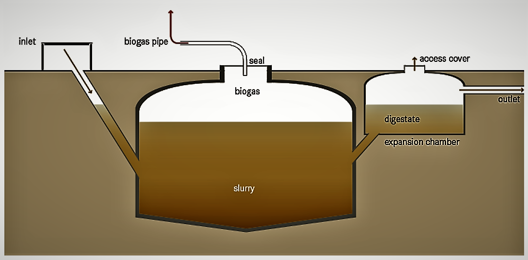 Anaerobic Digestion (Small-scale) | SSWM - Find tools for