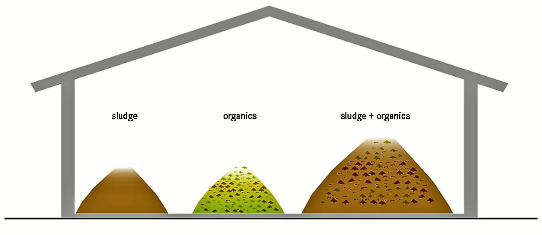 Schematic of the Co-compost. Source: TILLEY et al. (2014)