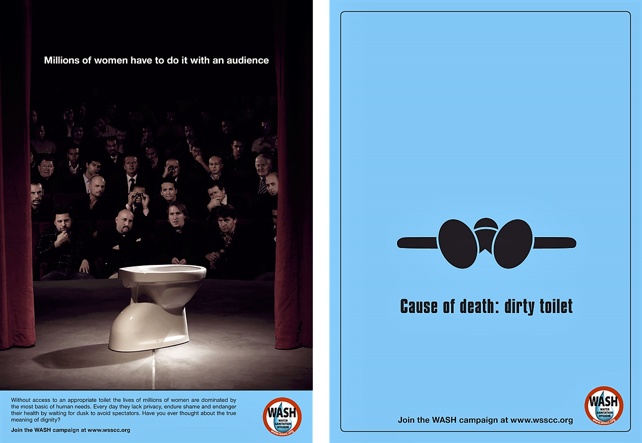 Awareness posters of the World Water Day 2008. Source: WSSCC (2008)