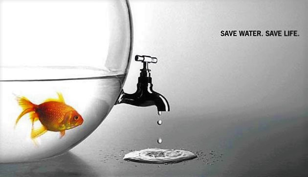 Saving water means - in particular in drought-prone areas - to conserve more water for the environment, thus saving live. Source: socialearth.org (n.y.)