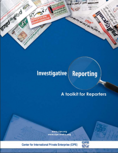 Investigative Reporting Toolkit