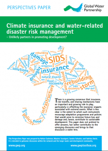 Climate insurance and risk management