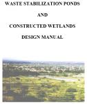 Waste stabilization ponds wsp sswm find tools for for Design of wastewater stabilization ponds