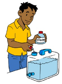 how to prepare chlorine stock solution