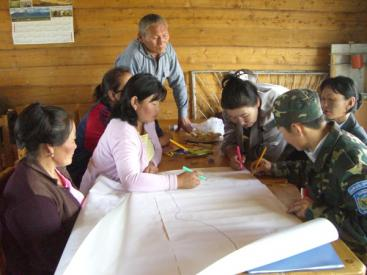 Community involvement in planning for sanitation