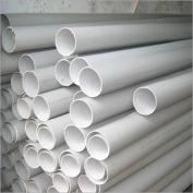 Plain, impervious PVC tubes, used as casing in a drilled well, prevent infiltration of groundwater near to the surface. Source: EXPRESS2ZIM (n.y.)