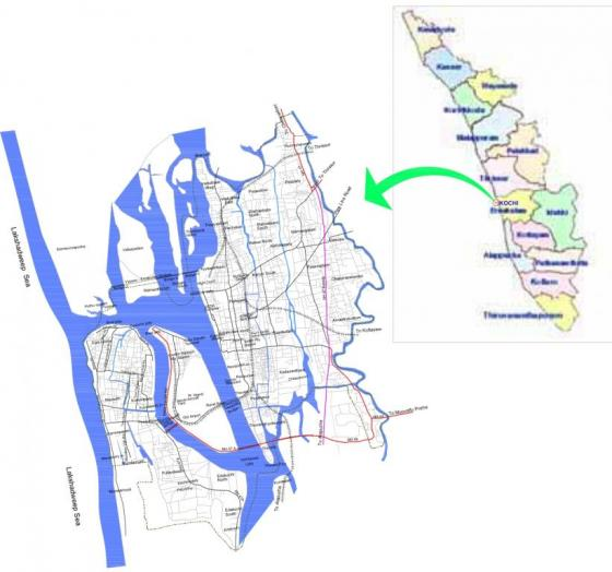 Location of Kochi. Source: KMC et al. (2011)