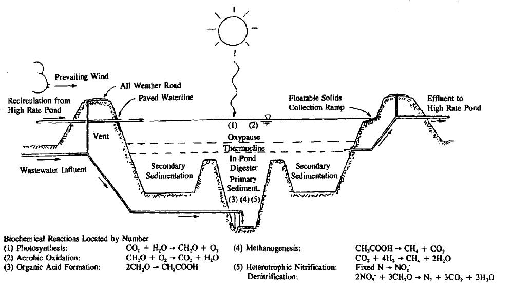 Advanced integrated ponds sswm for Design criteria of oxidation pond