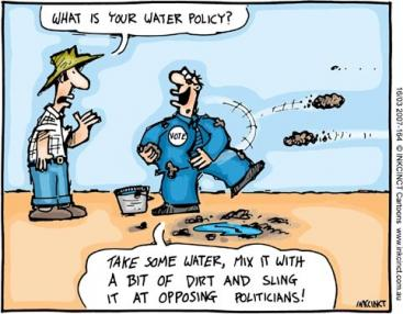 What is your water policy? Changes in existing water and sanitation policies, legal frameworks and institutions — or their new development — might be required for the successful implementation of sanitation and water management measures on the local level. Source: INKCINCT (2007)
