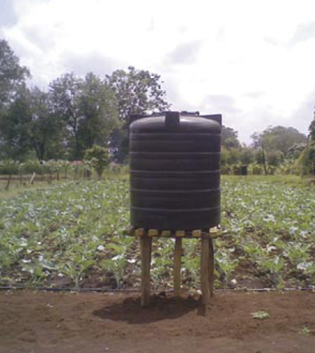 Water Tank Irrigation System : Manual irrigation sswm