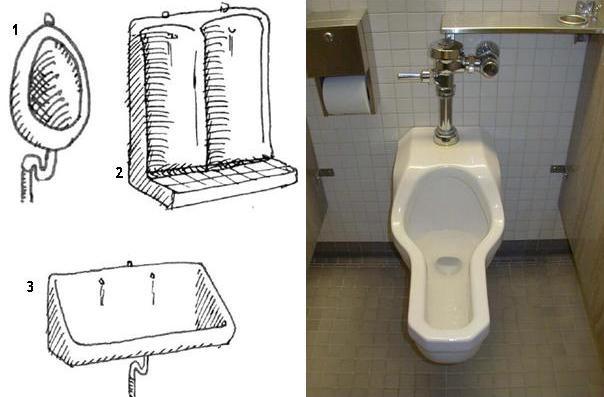 Waterless Urinals And Flush Urinals Sswm