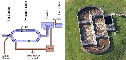 Activated sludge sswm for Design of oxidation pond
