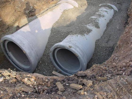 New construction of a separated sewer system in Germany. Source: VILLINGEN-SCHWENNINGEN (2010)